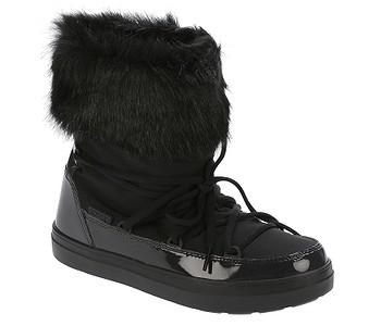 bb7db578a Snehule · Crocs. dámske. topánky Crocs Lodgepoint Lace Boot - Black