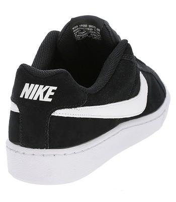 8766cf250139 buty Nike Court Royale Suede - Black White - blackcomb-shop.pl