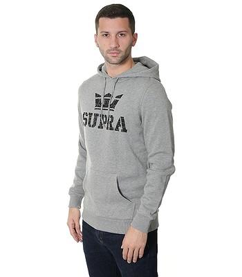 mikina Supra Above Pullover - Gray Heather Black. Produkt už nie je  dostupný. 9d92e37c3e6