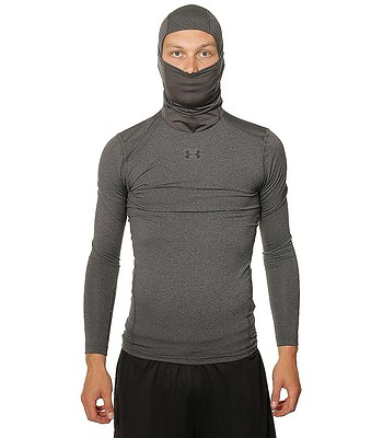 2ee0958921ebf8 koszulka Under Armour ColdGear Armour Compression LS - 090/Carbon Heather -  blackcomb-shop.pl