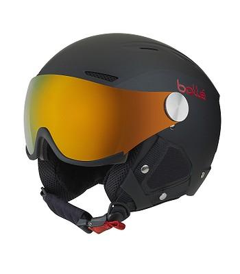 helma Bollé Backline Visor Premium - Black   Red - snowboard-online.sk 80c91a27251