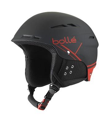 helma Bollé B-Fun - Soft Black   Red - snowboard-online.sk 4041f01b0a1