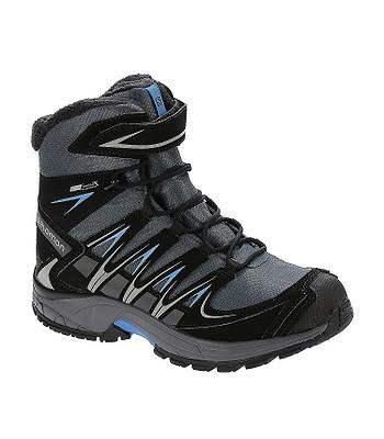 boty Salomon XA Pro 3D Winter TS CSWP - Gray Denim Black Methyl Blue ... 6185b947b6b