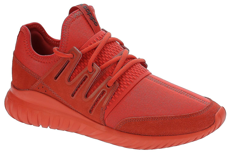scarpe adidas gli originali radiali tubulare rosso / rosso / nucleo nero