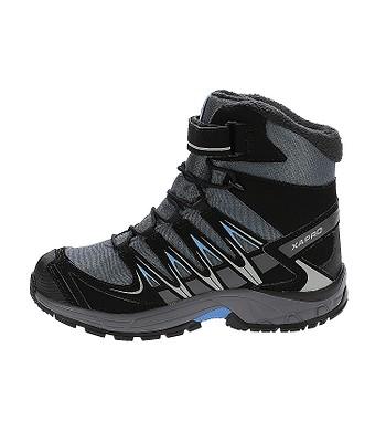 boty Salomon XA Pro 3D Winter TS CSWP - Gray Denim Black Methyl Blue.  Produkt již není dostupný. 0ed3b826ab7