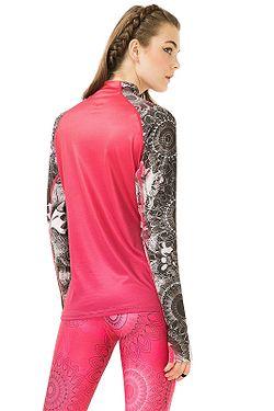 ... tričko Desigual 67T2SE2 A T-S B LS - 3177 Paradise Pink d4ac635329c