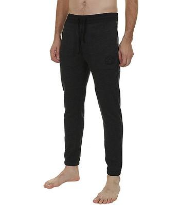 72f4ac702759e tepláky Converse Wover Detail Fleece Jogger/10002166 -  001/Black/Black/Heather | Blackcomb.cz