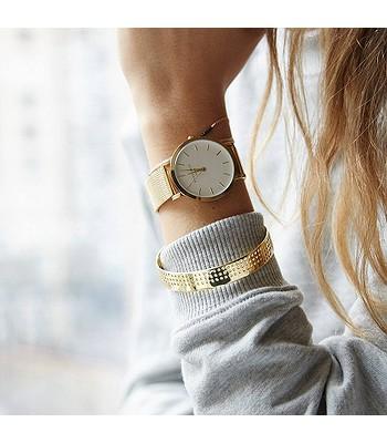0b44f61f7 hodinky Rosefield The Tribeca - Gold/White. SKLADEM -20%Doprava zdarma