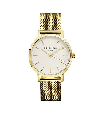 81809c6414 hodinky Rosefield The Tribeca - Gold White