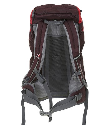batoh deuter ac lite 22 sl aubergine fire snowboard. Black Bedroom Furniture Sets. Home Design Ideas