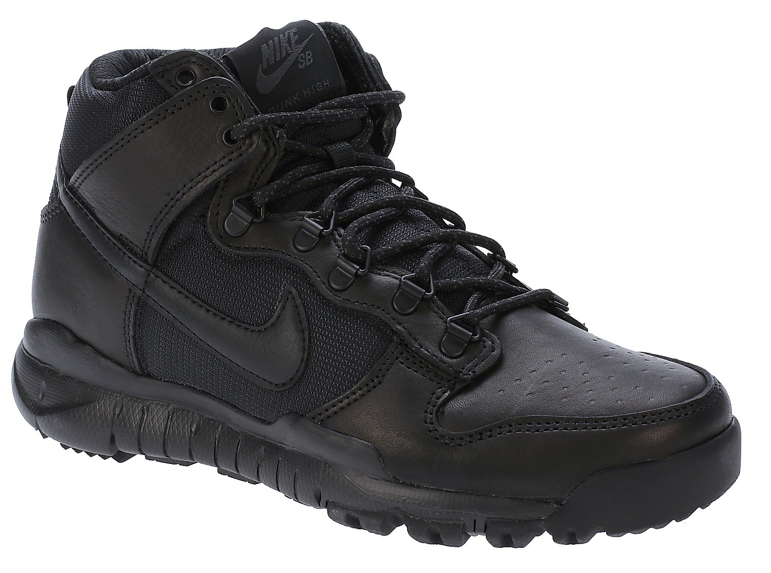 buty Nike SB Dunk High Boot BlackBlack snowboard