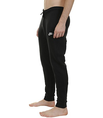 tepláky Nike Jogger Club - 010 Black White - snowboard-online.sk 9037c5c869