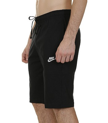 kraťasy Nike Jersey Club - 010 Black White - snowboard-online.sk 4046d2391b