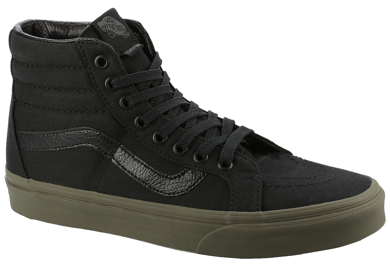 shoes Vans Sk8 Hi Reissue VansguardBlackIvy Green