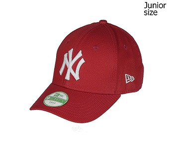 kšiltovka New Era 9FO League Basic MLB New York Yankees Child - Scarlet/Optic White