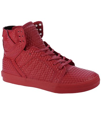 topánky Supra Skytop - Red Red - snowboard-online.sk 526972beca7