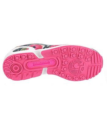 premium selection f12b0 ec3d3 shoes adidas Originals ZX Flux - Shock Pink/White/White ...