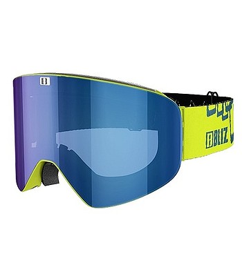 glasses Bliz Flow - 37146-73 Line Green Brown - snowboard-online.eu dfd0e033918