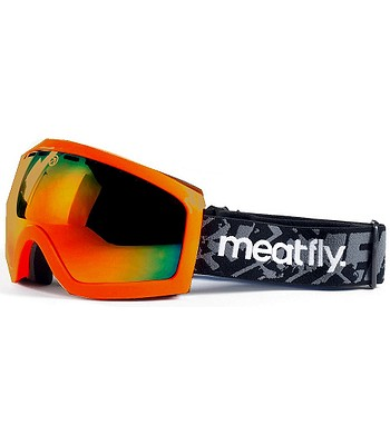 okuliare Meatfly Sphere 2 - Safety Orange Red Chrome - snowboard ... 1edd091e3f4