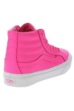 7e482424bfa ... boty Vans Sk8-Hi Slim - Neon Leather Neon Pink True White