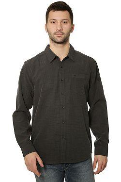 38db38fe8b košeľa Quiksilver Centinela LS - KVJ0 Black ...