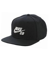 kšiltovka Nike SB Icon Pro - 013 Black Black Black White f0ac509251