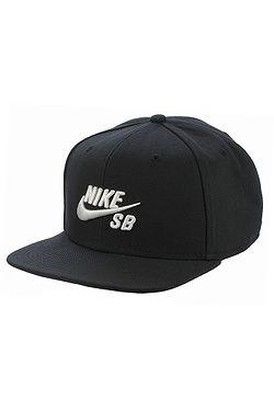 001389f1085 kšiltovka Nike SB Icon Pro - 013 Black Black Black White ...