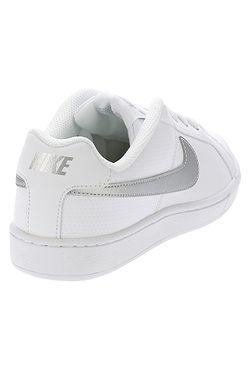 ... boty Nike Court Royale - White Metallic Silver 89a01939ae