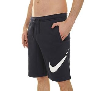 pánske. šortky Nike Sportswear Fleece Explosive Club - 451 Obsidian White fe2cf9a76f