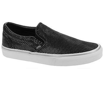 boty Vans Classic Slip-On - Metallic Dots Silver Black - boty-boty.cz -  doprava zdarma 47d19b11783