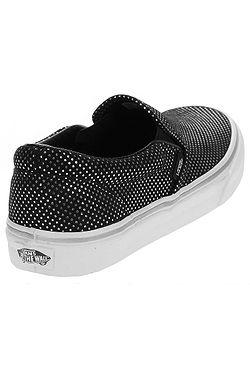 ... boty Vans Classic Slip-On - Metallic Dots Silver Black 0d4b42f83fe