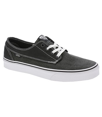 a460a1359dc0 shoes Vans Brigata - Washed Canvas Pirate Black White - snowboard-online.eu