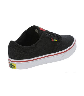 cfb0873ab detské topánky Vans Atwood - Rasta/Black/Red   blackcomb.sk