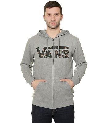 a54c709a0d83 sweatshirt Vans Classic Zip - Concrete Heather Black Hula Daze -  blackcomb-shop.eu