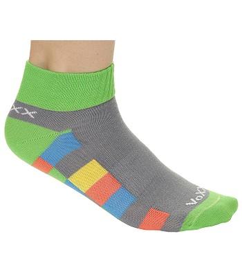 cee993b6530 ponožky Voxx Kvadrik - Green Gray Multicolor - snowboard-online.sk