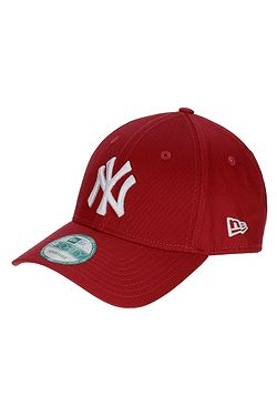 šiltovka New Era 9FO League Basic MLB New York Yankees - Scarlet/White