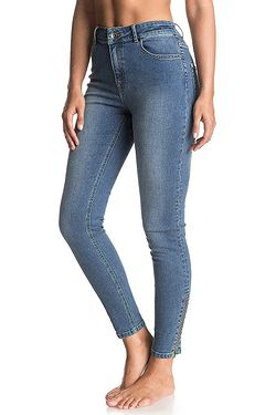 jeans Roxy Night Spirit Medium Blue - BMTW Medium Blue - snowboard-online.sk aa3e24ce79
