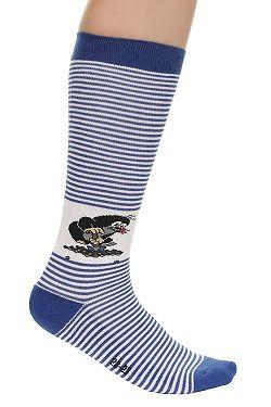 9c7e012cde9 ponožky Boma Krtek Long - Stripe Blue White ...