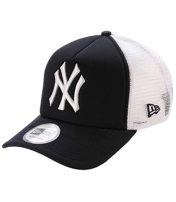 kšiltovka New Era Clean Trucker MLB New York Yankees - Navy White ... a519c3e2a5d