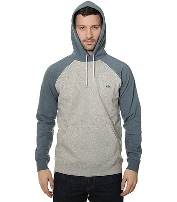 mikina Quiksilver Everyday Hood - BQKH Indian Teal Heather -  snowboard-online.sk baa582277c4