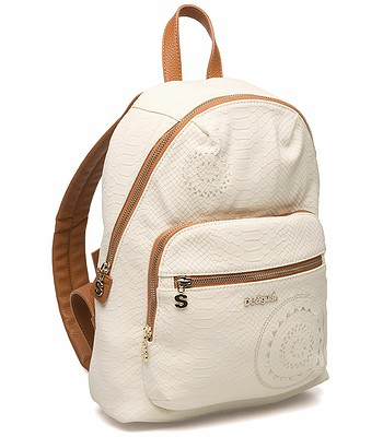 so cheap good lace up in backpack Desigual 72X9YK5/Lima Calypso - 1022/Blanco ...