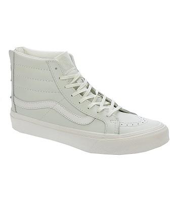 1030535cb5 shoes Vans Sk8-Hi Slim Zip - Leather Zephyr Blue Blanc De Blanc -  blackcomb-shop.eu