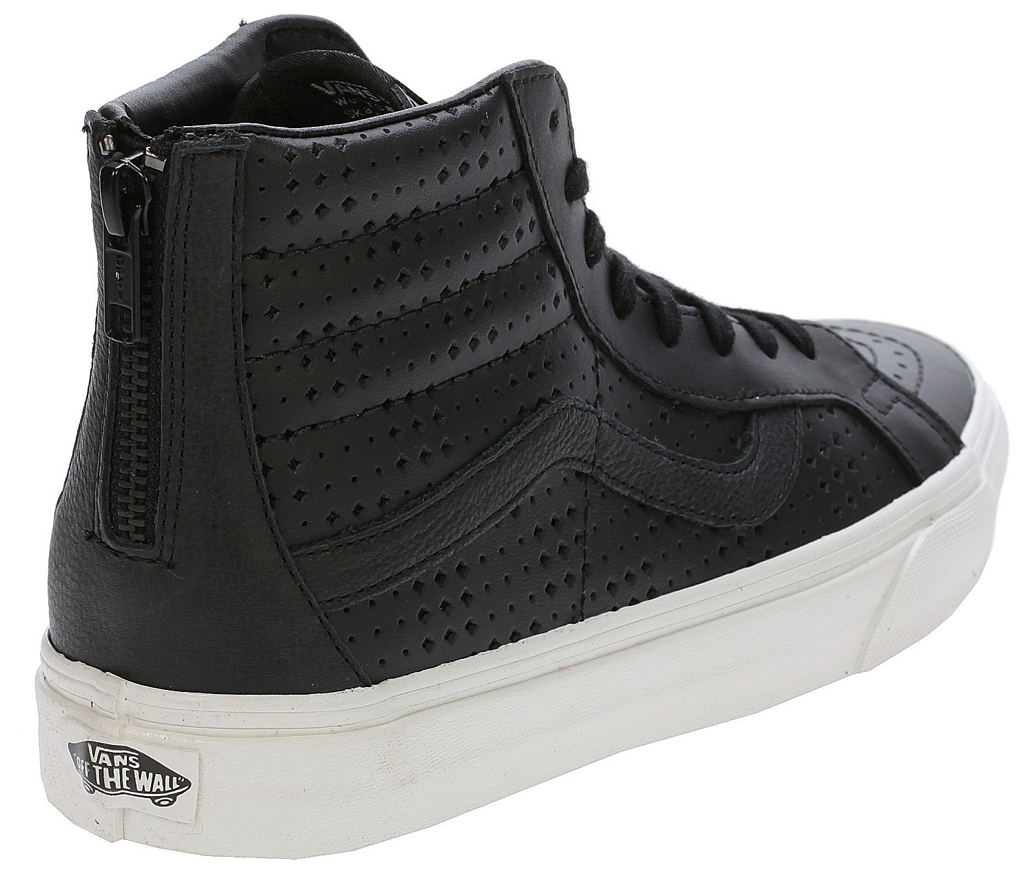 shoes Vans Sk8-Hi Reissue Zip - Leather Perf/Black. In stock -20%