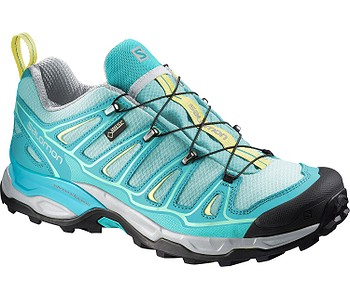 boty Salomon X Ultra 2 GTX - Bubble Blue Teal Blue F Citrus-X - boty ... dc8070c1f4