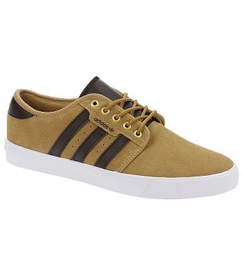 best service bb8e0 cce63 shoes adidas Originals Seeley - Mesa Dark Brown White - snowboard-online.eu