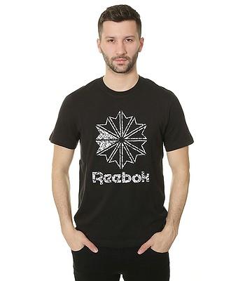 9f4300ff852 tričko Reebok Foundation Large Starcrest Print - Black - snowboard ...