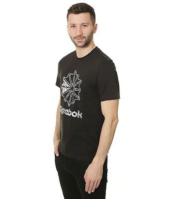 68041f1f4a6 tričko Reebok Foundation Large Starcrest Print - Black - snowboard-online.sk