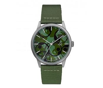 hodinky CHPO Lucy - 14234FF/Silver/Army Green