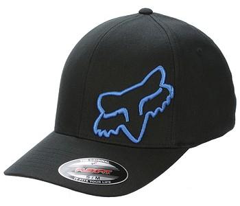 kšiltovka Fox Flex 45 Flexfit - Black/Blue