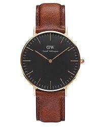 hodinky Daniel Wellington St.Mawes Classic Black 36 - Rose Gold f55c2f98b07